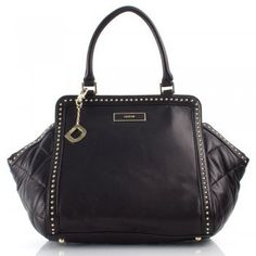 DKNY Black Gansvoort Women's Studded Tote Bag