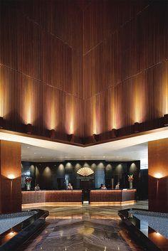 Lobby at Mandarin Oriental, Singapore