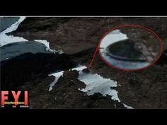 Alien Craft Spotted at Antarctica - YouTube
