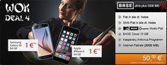 5GB BASE All-in Plus mit iPhone 6 (64GB) oder Galaxy S6 (64GB) für 1€ http://www.simdealz.de/e-plus/base-all-in-plus-mit-iphone-6-oder-galaxy-6/