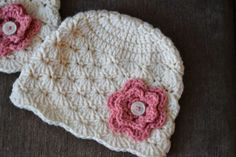 Knotty Knotty Crochet: Simple shells beanie FREE PATTERN!