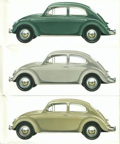I have seen a lot of VW beetles this week in Mexico. Love them!