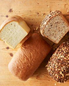 Basic Breads episode of Martha Bakes: Multigrain Bread,  Rye Bread, White Bread, Parker House Rolls