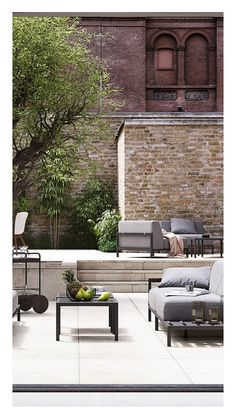 """""""Outdoor living spaces such as balconies and terraces have an infinite number of possibilities to enhance everyday living for everyone from the extrovert to the introvert, and yet, it isn't uncommon for these potential outdoor havens to be lackluster and underutilized. The good news is you don't need an expensive makeover to get the most out of your outdoor space—with just a few small touches you can take your outdoor area from underwhelming to inspiring and finally create an outdoor living"""