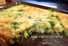 Gettin' Our Skinny On!: MAGIC CHICKEN & BISCUIT CASSEROLE