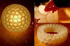 49 Ideas Party Disco Lights Plastic Cups For 2019 Fun Crafts For Kids, Arts And Crafts, Diy Crafts, Kids Fun, Diwali Decorations, Light Decorations, Diy Decoration, Plastic Cups, Plastic Bottles