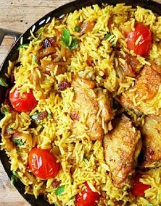Low FODMAP Recipe and Gluten Free Recipe - One-pot chicken pilaf