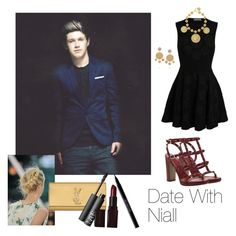 """Date With Niall (Requested)♡"" by one-direction-outfitsxxx ❤ liked on Polyvore featuring Alexander McQueen, Valentino, Dolce&Gabbana, Yves Saint Laurent, NARS Cosmetics, Laura Mercier and Urban Decay"