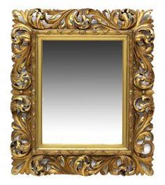 Carved & Gilt Framed Mirror