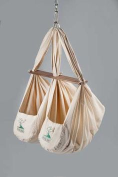 The NONOMO Baby Hammock for twins - this would be really neat!