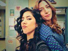Stephanie Beatriz & Chelsea Peretti