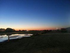 Texas Oilfield sunrise
