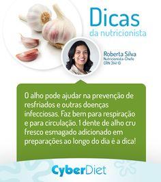 Conheça os benefícios do alho! http://maisequilibrio.terra.com.br/alho-amuleto-da-saude-2-1-1-86.html?origem=Pinterest