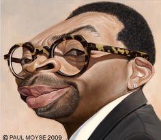 [ Spike Lee ] - artist: Paul Moyse - website: http://artofmoyse.blogspot.com