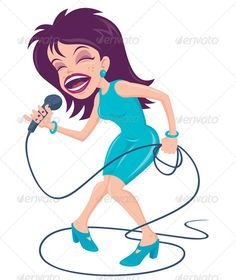Realistic Graphic DOWNLOAD (.ai, .psd) :: http://hardcast.de/pinterest-itmid-1000165266i.html ... Female Pop Singer ...  aqua, artist, belt, cartoon, concert, diva, female, humor, idol, illustration, karaoke, microphone, music, performer, pop, purple, rock, scream, shout, sing, singer, star, teal, vector, woman, yell  ... Realistic Photo Graphic Print Obejct Business Web Elements Illustration Design Templates ... DOWNLOAD :: http://hardcast.de/pinterest-itmid-1000165266i.html