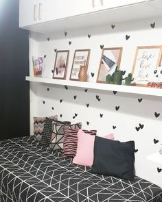 Teenage Girl Bedrooms, Teen Bedroom, Room Decor Bedroom, Bedroom Ideas, Bedroom Colors, Girl Bedroom Designs, Stylish Bedroom, Awesome Bedrooms, Girl Room