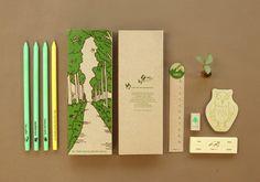Eco Stationery Set - Owl