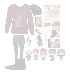"""""""Harry Potter and chill?"""" by dark-jewel ❤ liked on Polyvore featuring Frame Denim, Converse, Free People, Bioworld and Bling Jewelry"""