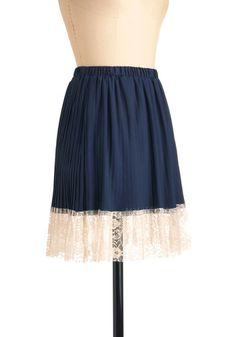 Blueberry A La Mode Skirt #modcloth
