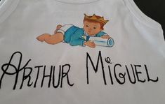 Camiseta infantil personalizada no Elo7 | Artes da Cissa (F1F486) Onesies, Kids, Baby, Clothes, Fashion, Tejido, Custom T Shirts, Paintings, Young Children