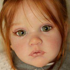 Волшебной красоты куколка реборн Mattia от Анны Арутюнян, скульптор by Gudrun Legler. Давайте насладимся фото! Reborn Toddler Dolls, Reborn Babies, Realistic Dolls, Diy Clay, Daughter, Face, Artist, Baby Dolls, Reborn Baby Girl