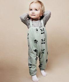 Baby brace trousers - Mini Rodini.