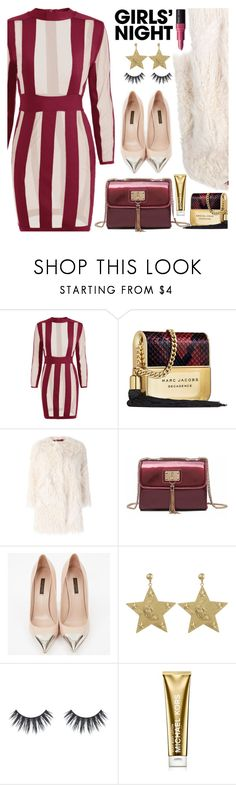 """""""Hey, Besties: Girls' Night"""" by paculi ❤ liked on Polyvore featuring Marc Jacobs, Zadig & Voltaire, Louis Vuitton, Michael Kors, Bobbi Brown Cosmetics and girlsnight"""