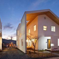 Casas de estilo moderno por 리을도랑아틀리에