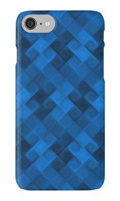 Coque et étui iPhone 'Blue Deep Pattern par RVig Generative Art Generative Art, Deep, Coque Iphone, Phone Cases, Patterns, Blue, Digital Art, Pattern, Block Prints