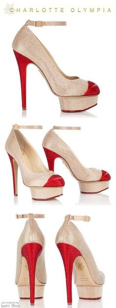 Charlotte Olympia Crystal Kiss Me Dolores