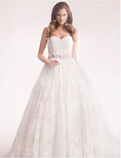 alita graham {sweetheart ball gown in lace}