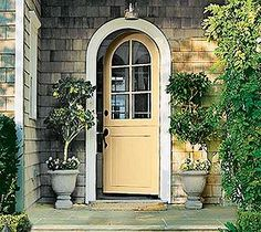 Beautiful painted front doors