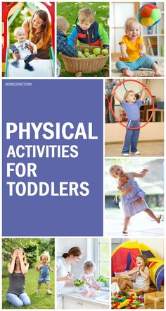 For If you are looking to give your toddler a more active life look no further! We have compiled this list of some super fun toddler physical activities which will surely catch your little ones attention!Here are some amazing physical activities for Physical Activities For Preschoolers, Games For Toddlers, Motor Activities, Infant Activities, Preschool Activities, Outdoor Toddler Activities, Elderly Activities, Dementia Activities, Movement Activities