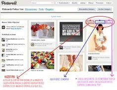 Si acabas de aterrizar en Pinterest, esta guía te será muy útil -> vía Enrhedando  http://www-en-rhed-ando.blogspot.com/2011/08/guia-para-principiantes-como-usar.html