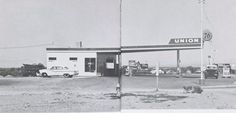 Minute Man as a Union 76 service station in Needles CA in the 1950s.