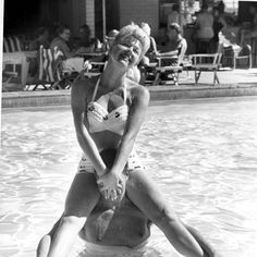 Doris Day and Marty Melcher at the Desert Inn, Palm Springs, 1957. Courtesy of Neal Peters Collection.