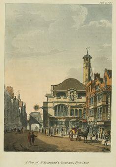 St Dunstan-in-the-West, Fleet Street