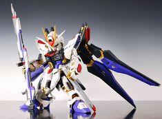 GUNDAM GUY: MG + SD Strike Freedom Gundam - Custom Build