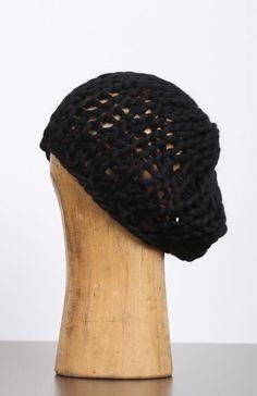 pal offner - Mütze Beanie Merino Wool Handmade black - Winter 2017 - stilecht…