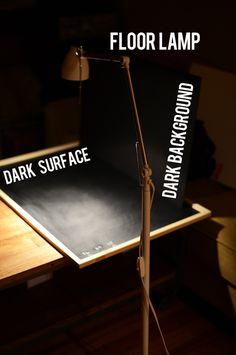 Tutorial sobre fotografía de alimentos en clave baja. Luz más o menos dura en fondo oscuro. Night time photography. minimalistmaker.com
