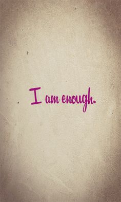 You are! Encouragement For Today, Hope In Jesus, Praying For Others, I Am Enough, Spiritual Thoughts, Positive Outlook, So True, Good Advice, Food For Thought