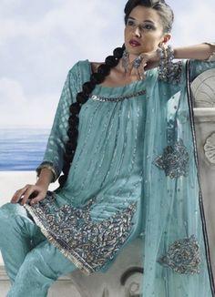Party Wear Salwar Kameez Designs & Collection 2011!