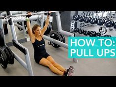 How To Build Up The Muscles To Do A Pull-Up - YouTube