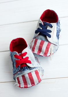 Kaley Baby Sneakers PDF Pattern - New Pattern Sale! % Off!