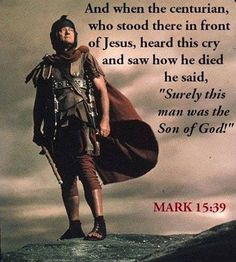 Mark 15:39