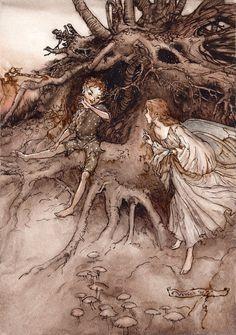 A Midsummer Night's Dream by polkapills on DeviantArt