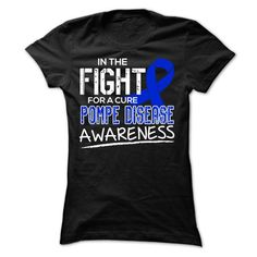 Fight2 - Pompe Disease - #wedding gift #inexpensive gift. WANT IT => https://www.sunfrog.com/LifeStyle/Fight2--Pompe-Disease-Ladies.html?68278