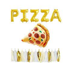 Pizza party 4 elementos