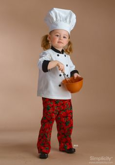 Dress up Set Chef & Pirate Childs Costumes by TheHouseOfZuehl, $99.00
