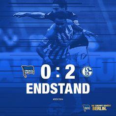 Ein gebrauchter Tag das lässt sich festhalten. Unsere Jungs unterliegen Schalke 04 mit 0:2. #BSCS04 #hahohe